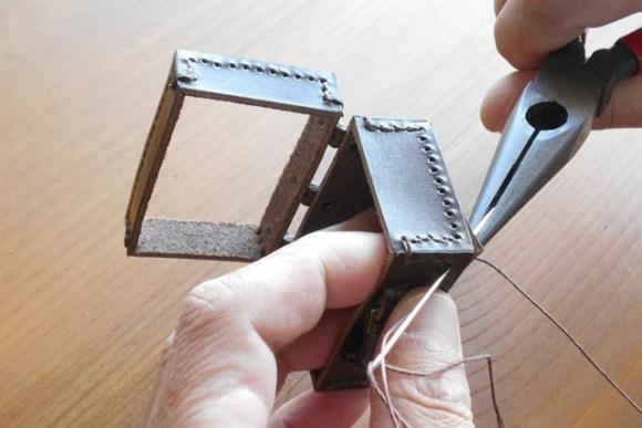5~6ミリ厚の革を縫うのと同じです