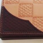 飾りポケット(オーダーメイドの長財布)