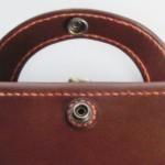 半ドーナツ型のベルト(オーダーメイドの三つ折り財布)