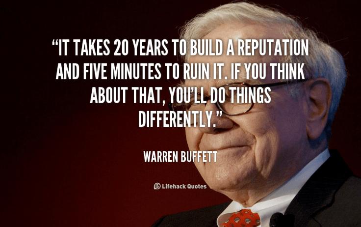 Your Startup Guru motivation - Warren Buffett quote