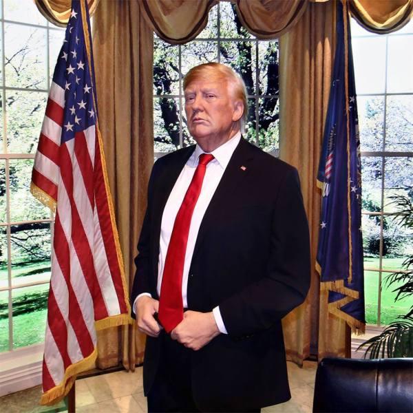 Madame Tussauds New York Donald Trump