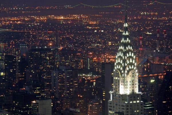 Chrysler-Building-At-Night-