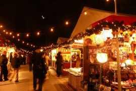 marchés de Noël New York
