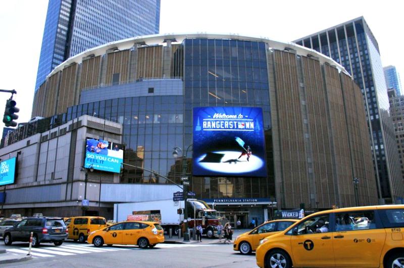 Un match de NHL au Madison Square Garden