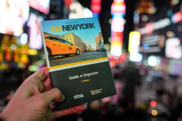 guide papier GO New York