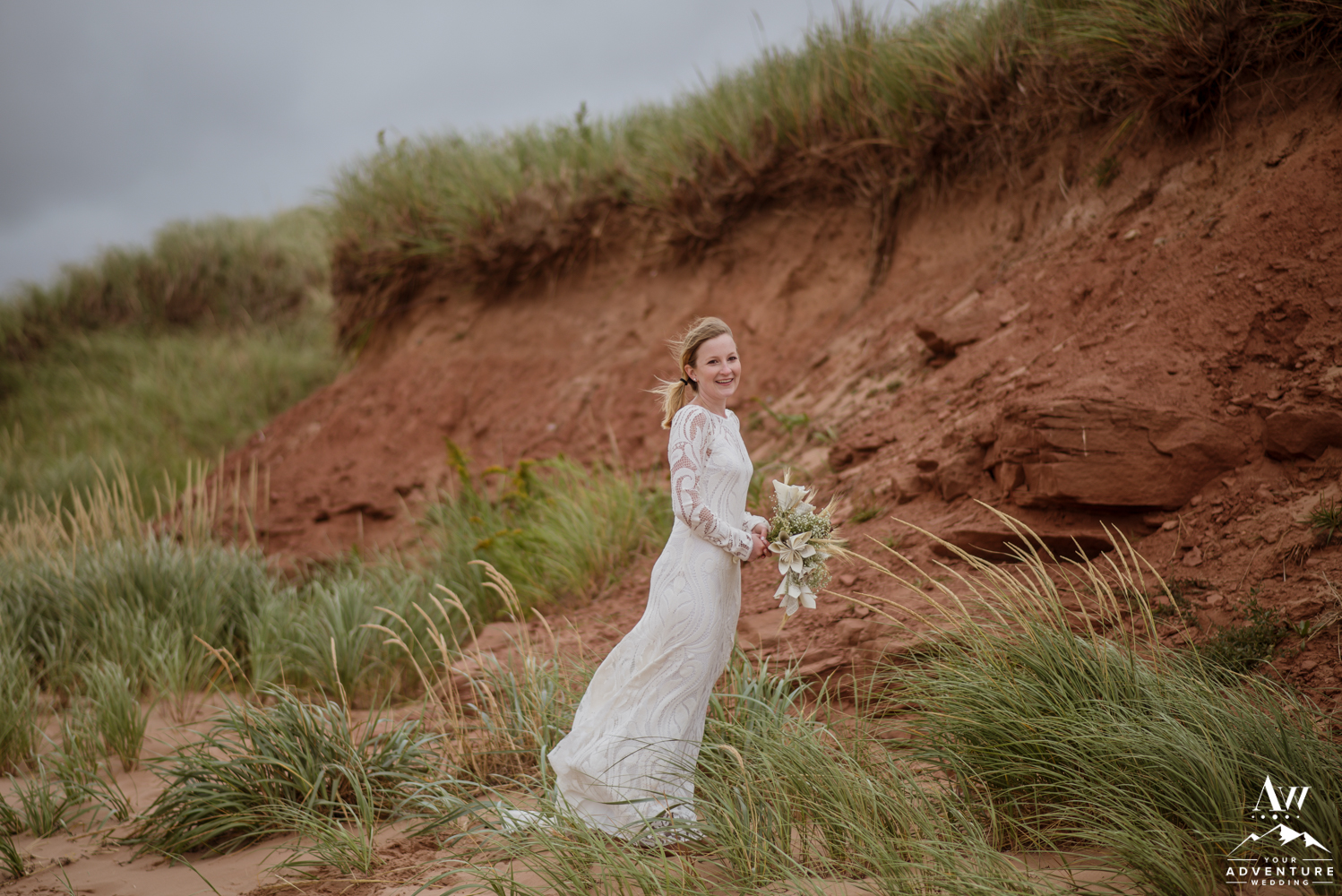 Bride at Thunder Cove