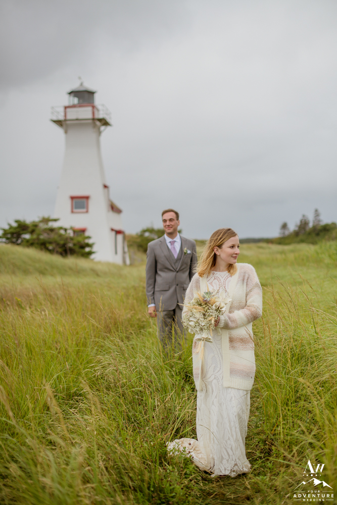 Prince Edward Island Wedding at a Lighthouse