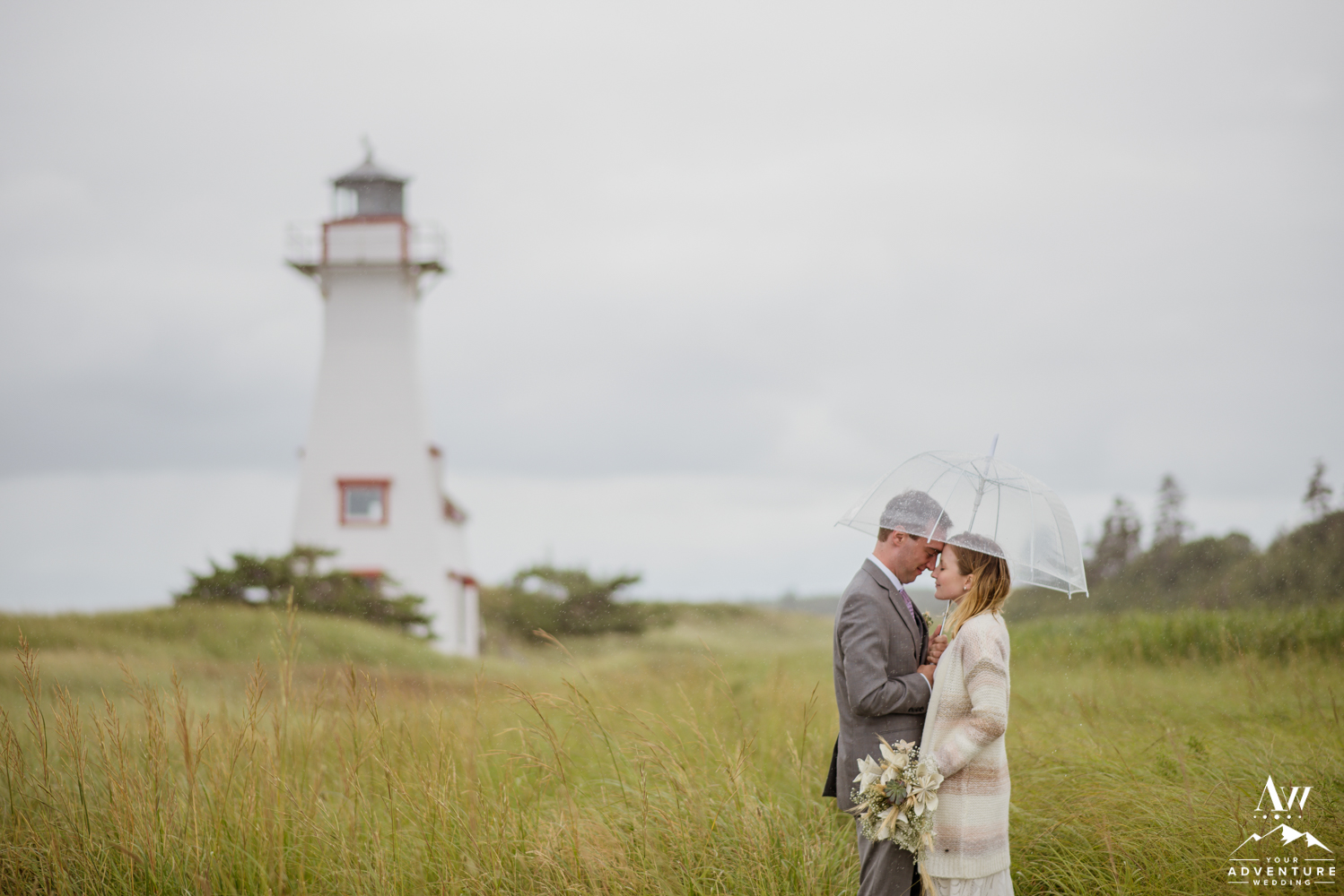 Prince Edward Island Lighthouse Wedding