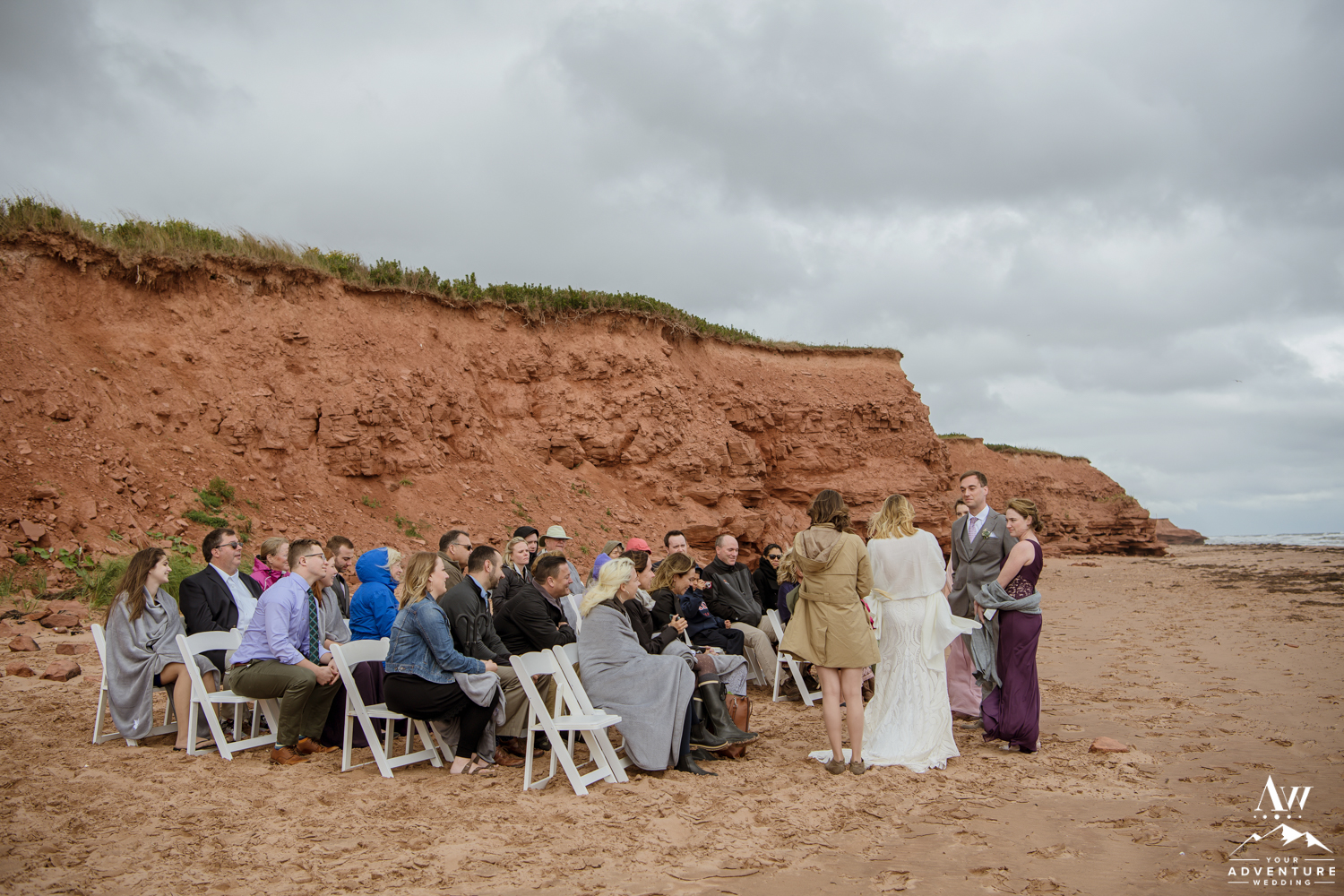Red Cliffs Prince Edward Island Wedding