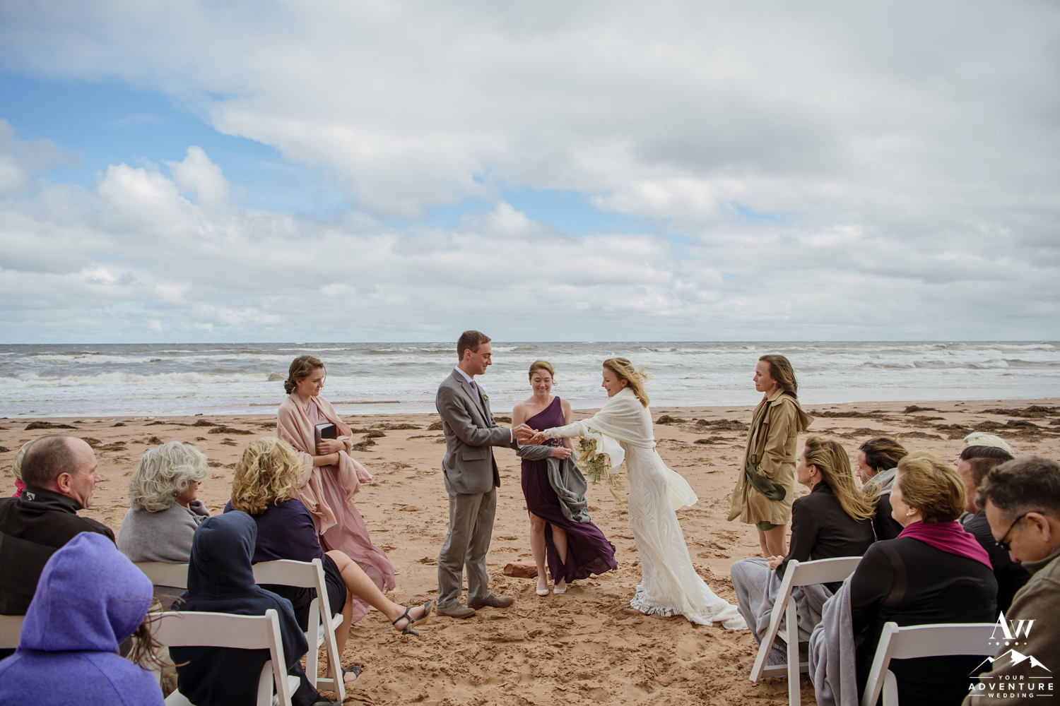 Prince Edward Island Wedding Ceremony Thunder Cove