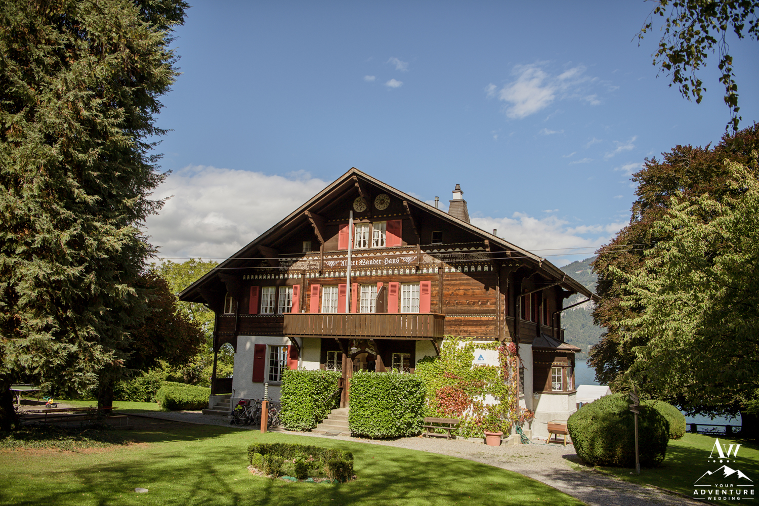 Traditional House in Interlaken Switzerland