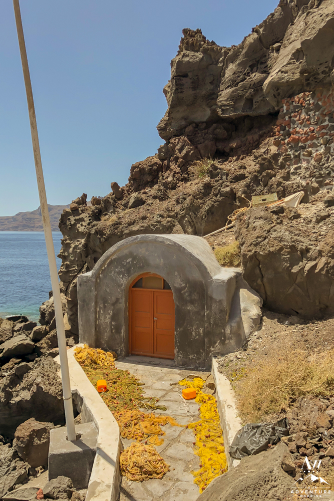 Santorini Elopement Locations that are historic