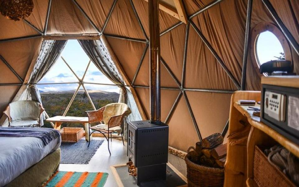 Patagonia Ecocamp Dome Suite