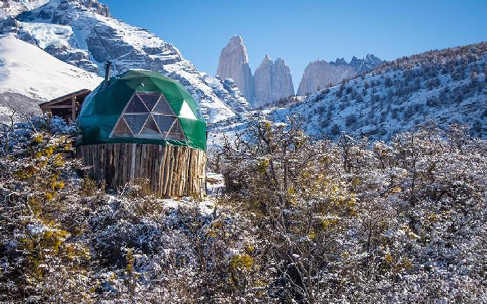Suite Dome in the Mountains in Chile
