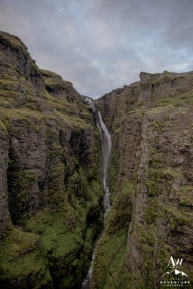 Glymur Waterfall Wedding-2