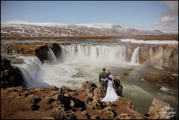 Godafoss Waterfall Iceland Wedding Photographer