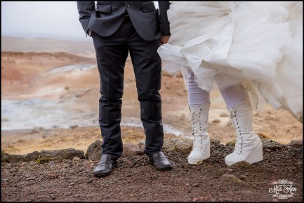 Seltun Geothermal Area Iceland Wedding