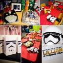LEGO StarWars Fourth Birthday Party