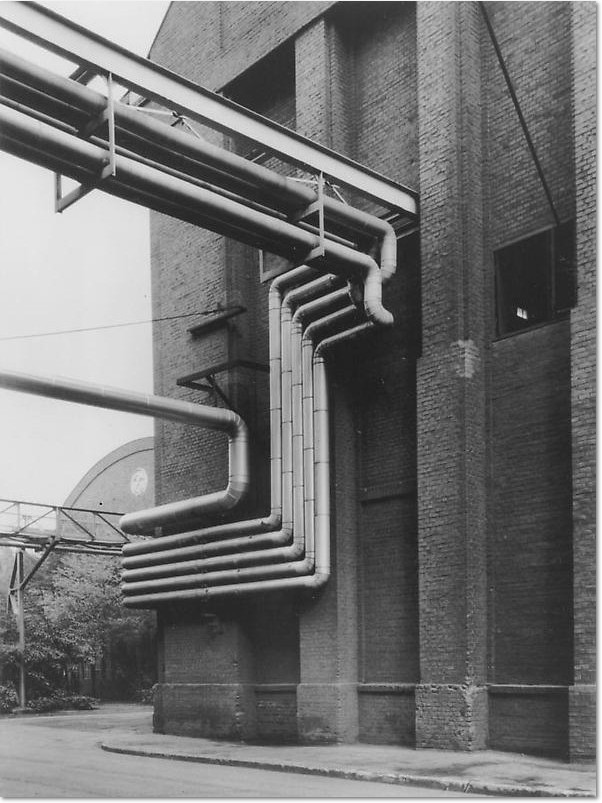 Bernd & Hilla Becher. Walls and Conduits, 1991. 63 x 50cm, Ed. 100.