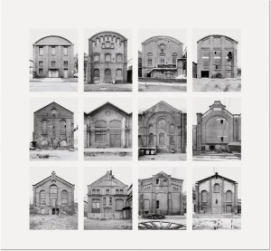 "Bernd und Hilla Becher - Industriehallen (Industrial Facades) 2006 Image II from Typologies Digital pigment print (Ditone) on photo paper, 90 x 93 cm (35½ x 36½""). Edition of 40, signed and numbered on verso."