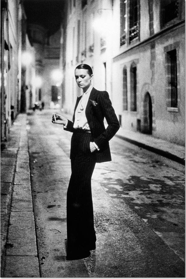 Helmut Newton, Rue Aubriot, Paris