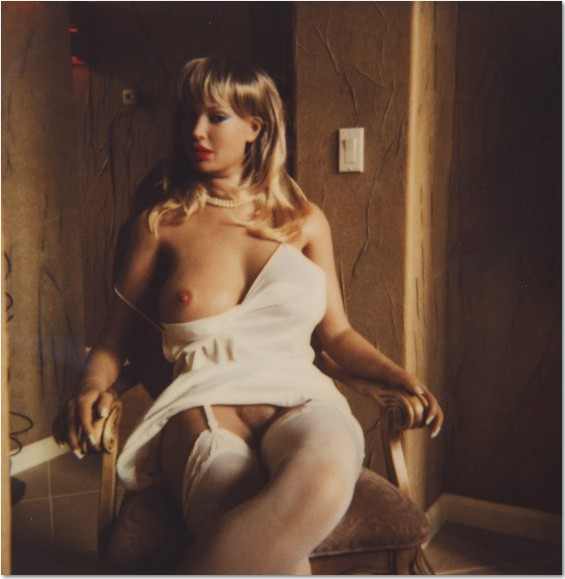 Helmut Newton- Sex doll, California 2002 Polaroid 10.3 x 10.3 cm (4 x 4 in.) Helmut Newton. © The Helmut Newton Estate
