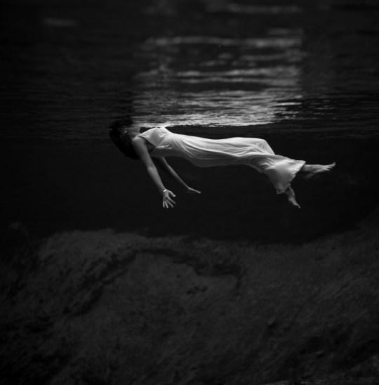 "Toni Frissell:""Weeki Wachee Springs, Florida"", 1947."