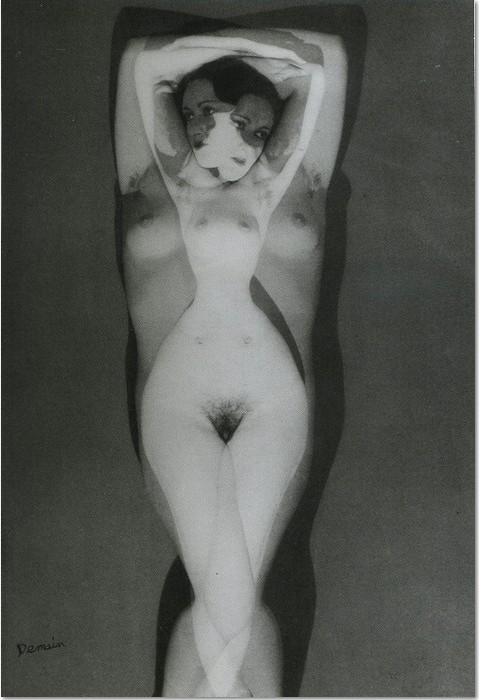 Man Ray: 'Yesterday Today Tomorrow', 1924, Photographic reproduction © Man Ray Trust / ADAGP, BI, Paris 2010, size 18 x 24 cm