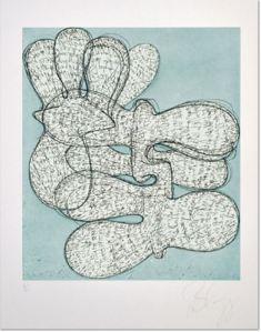 Tony Cragg - Companions, Tony Cragg Companions 5 Etching, 2000, Size: 53,5 x 39,5 cm