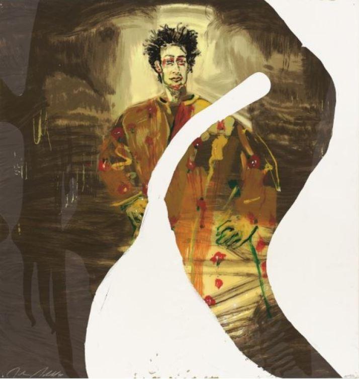 Julian Schnabel - Nemo Librizzi - Siebdruck aus 23 Farben mit Kunstharz übergossen Format: 96.5 x 91.4 cm Auflage: 90 + 10 AP Sonstiges: signiert und nummeriert