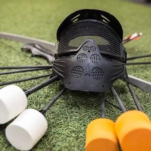 Archery tag masker met pijl en boog