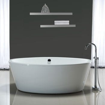 66 X 43 Oval Freestanding Tub Luxury Bathroom Products