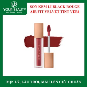 Son Kem Lỳ Black Rouge Air Fit Velvet Tint Ver 5