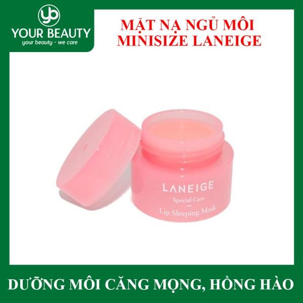 Mặt Nạ Ngủ Môi Laneige Lip Sleeping Mask Minisize