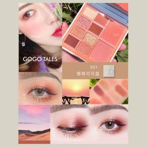 Phấn Mắt Gogo Tales Retro Velvet Eye Shadow Palette 10 ô