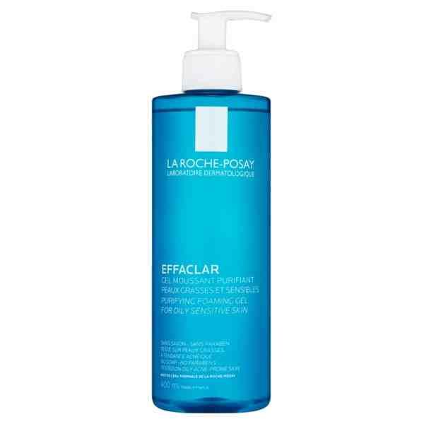 Gel Rửa Mặt Cho Da Dầu Mụn La Roche-Posay Effaclar Purifying Foaming Gel For Oily Sensitive Skin 400ml
