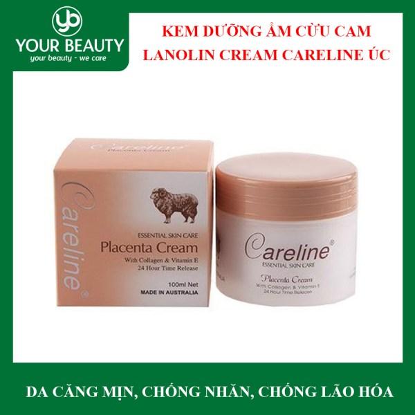 Kem Dưỡng Ẩm Nhau Thai Cừu Lanolin Cream Careline Úc – HỒNG