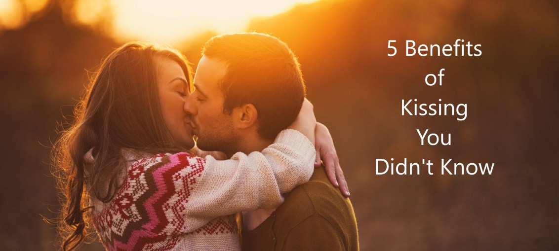 benefits of kissing