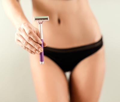 shaving your pubes
