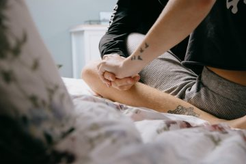 intimacy without sex holding hands