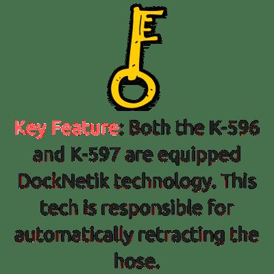 k-596 vs k-597 docknetik technology