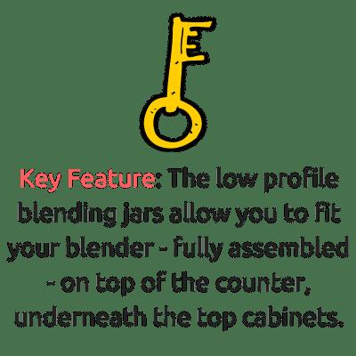 vitamix 750 vs 780 key feature low profile jar