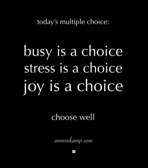 busy-is-a-choice
