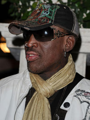Rodman0 Dennis Rodman is going to coach a topless women's basketball team