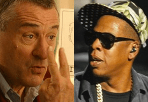 Robert De NIro squabbles with Jay-Z for not returning his phone calls at a party