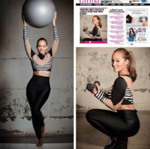 Evelyn Lozada is curently blogging about fitness on Latina.com. Her first blog post crashed the company's website.