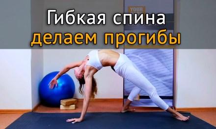 Упражнения для гибкости спины: как разработать прогиб