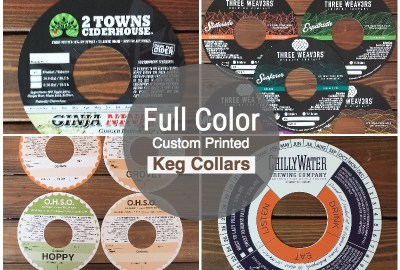 Custom Keg Collars