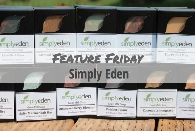 Simply Eden Soap Boxes