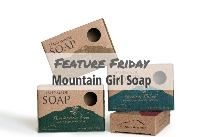 Mountain Girl Soap Packaging